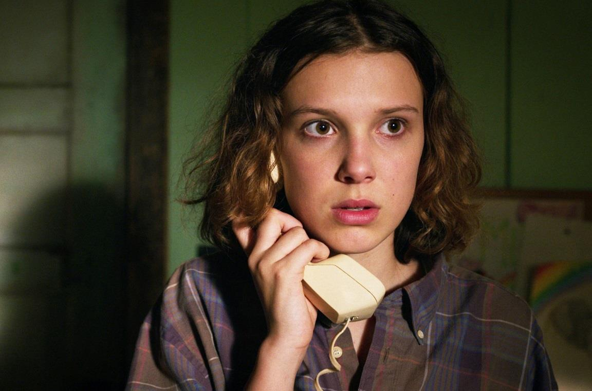 Millie Bobby Brown è Undici in Stranger Things