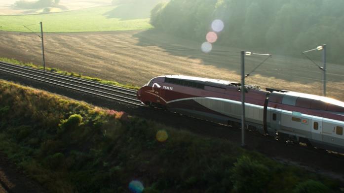 Scena del film: treno