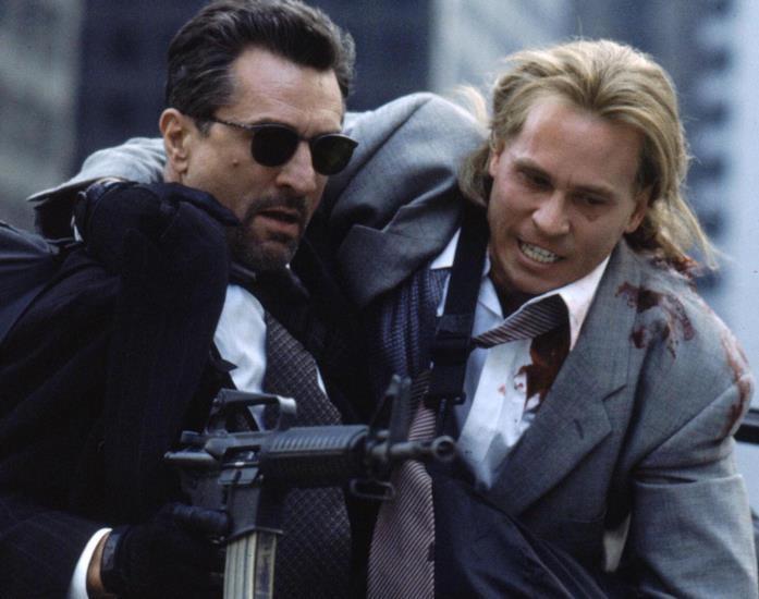 Robert De Niro e Val Kilmer in una scena del film