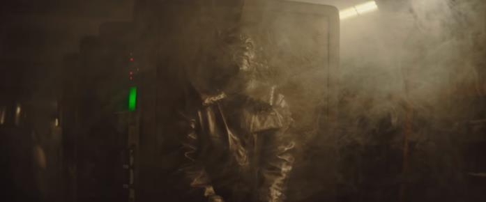 La carbonite in una scena della serie TV The Mandalorian