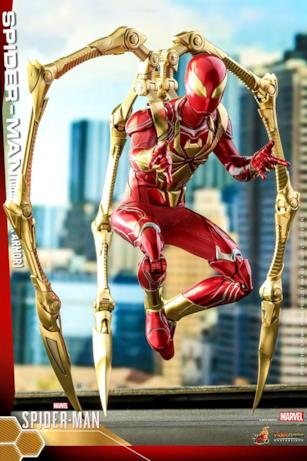 Iron Spider nei suoi dettagli ravvicinati