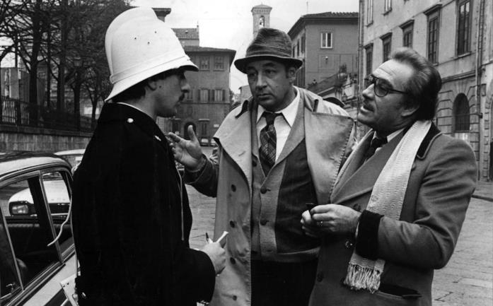 Ugo Tognazzi e Philippe Noiret in una scena del film