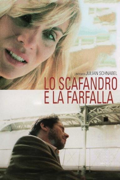 Poster Lo scafandro e la farfalla
