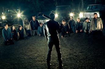 The Walking Dead 7: il poster per il Comic-Con con Negan