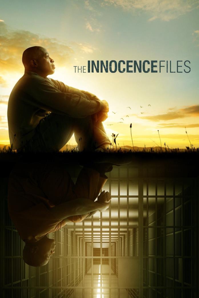 Il poster ufficiale della serie The Innocence Files