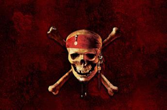 Il logo ufficiale di Pirati dei Caraibi: Ai confini del mondo
