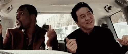 Jackie Chan e Chris Tucker in Rush Hour