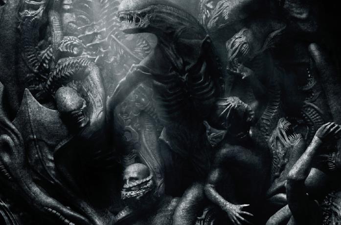 Gli Ingegneri e i neomorfi di Alien: Covenant