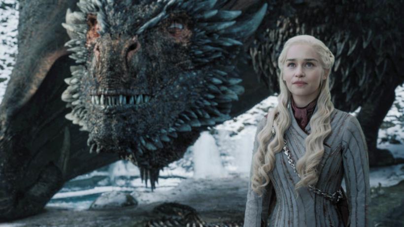 Daenerys e Drogon insieme al Nord