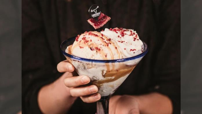Il gelato di LongHorn Steakhouse al sapore di bistecca