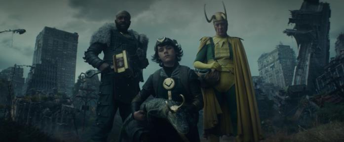 I 4 Loki alla fine dell'episodio 4