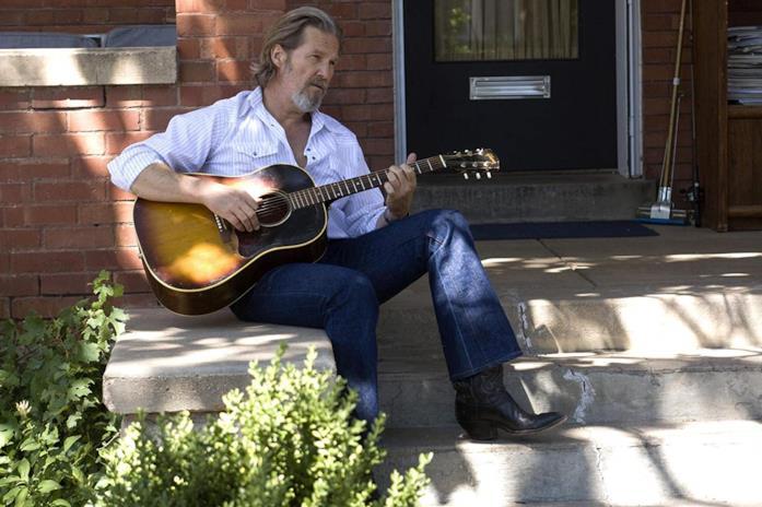 Jeff Bridges in una scena del film Crazy Heart