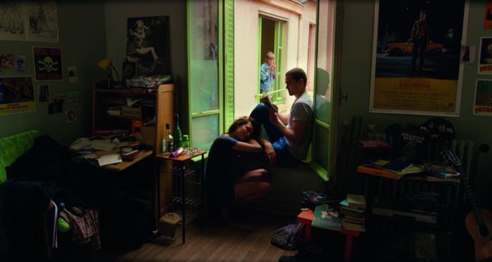 Una scena del film Love di Gaspar Noé