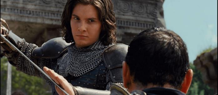 Il Principe Caspian, interpretato da Ben Barnes
