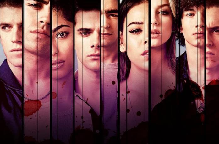 Il cast di Élite