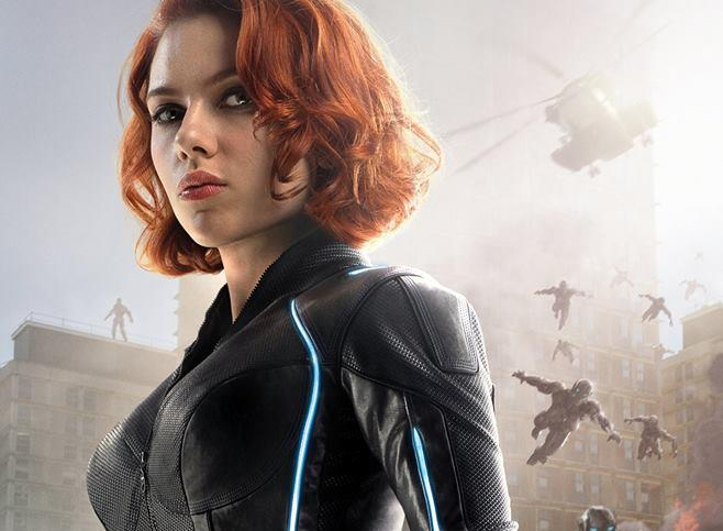 Character poster di Avengers: Age of Ultron dedicato a Vedova Nera