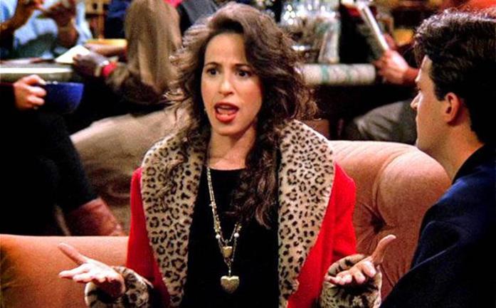 Janice in una scena di Friends