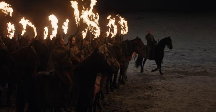 I vivi si preparano ad affrontare i morti nella Battaglia di Winterfell