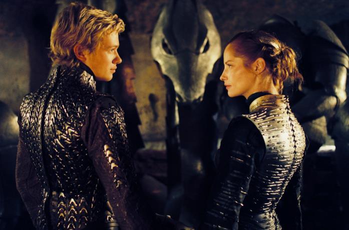 Ed Speleers e Sienna Guillory sono Eragon e Arya