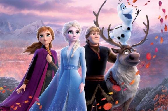 I protagonisti di Frozen 2