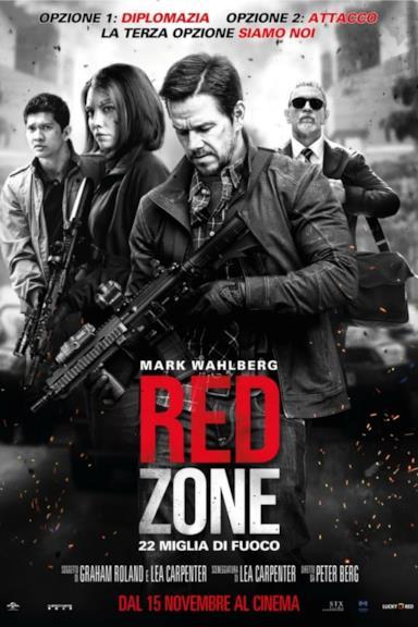 Poster Red Zone - 22 Miglia di Fuoco
