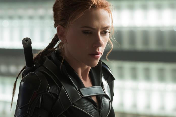 Black Widow nel film a lei dedicato