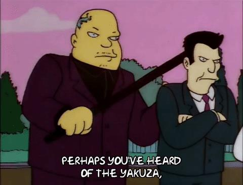 Yakuza I Simpson