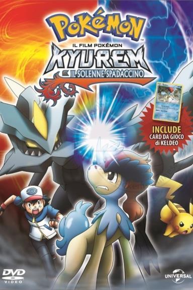 Poster Pokémon - Kyurem e il solenne spadaccino