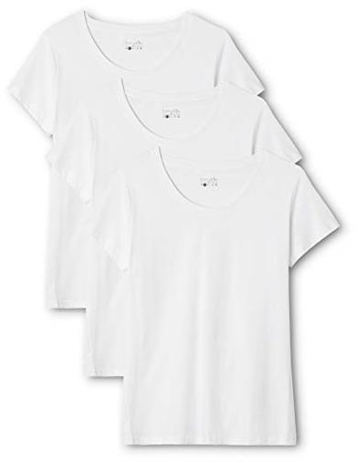 T-shirt donna con scollo tondo Large