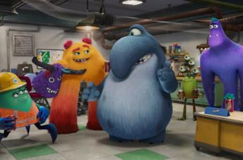 I protagonisti della serie animata Monsters & Co.