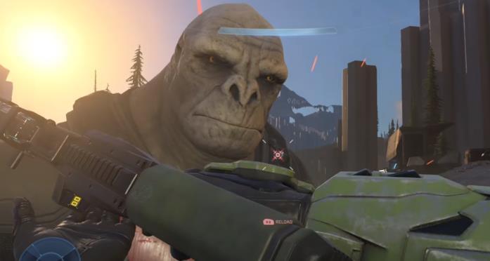 Il bruto Craig in Halo Infinite