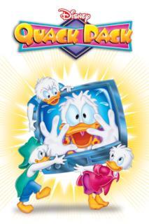 Poster Quack Pack - La banda dei paperi