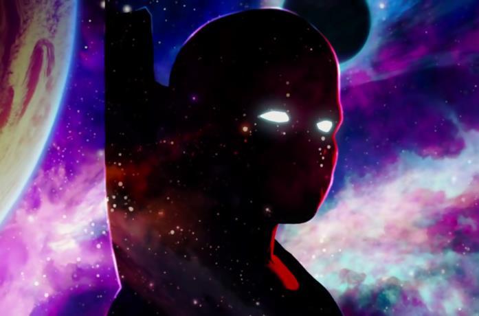 Uatu, l'Osservatore alieno interpretato da Jeffrey Wright