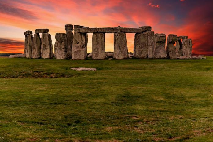 Una spettacolare foto di uno Stonehenge