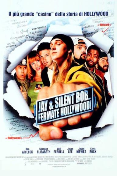 Poster Jay & Silent Bob... Fermate Hollywood!