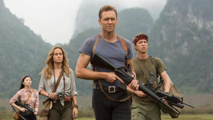 Kong: Skull Island, Tom Hiddleston e Brie Larson