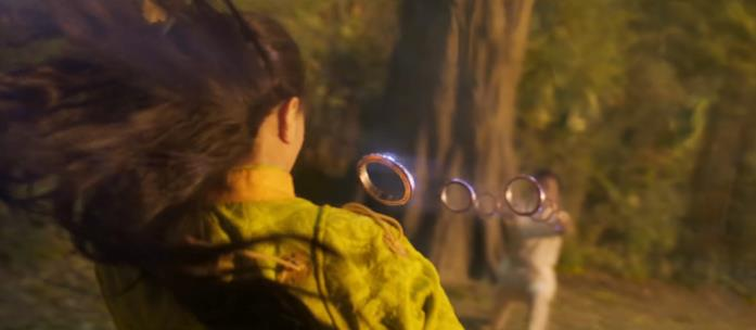 La madre di Shang-Chi schiva gli anelli