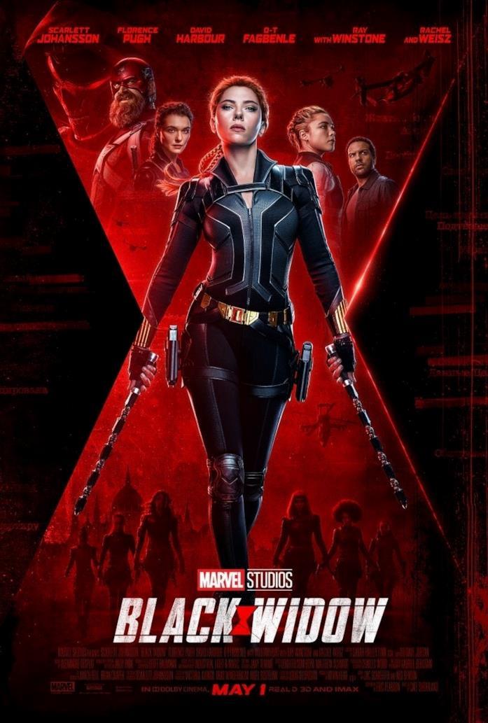 Il nuovo poster del film Black Widow