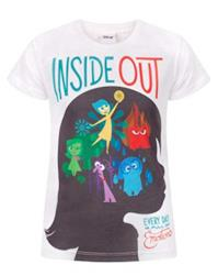Ragazze - Official - Inside Out - T-Shirt (3-4 Anni)