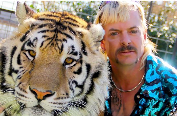 Joe Exotic nel video di Here Kitty Kitty