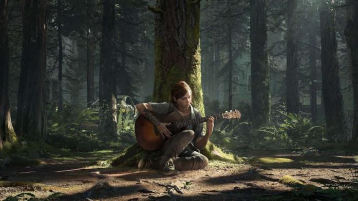 Un artwork di Ellie in The Last of Us - Part II