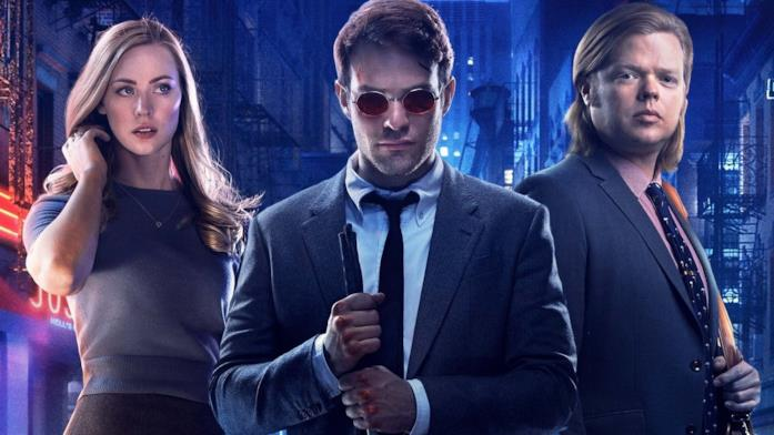 Primo piano del cast di Daredevil