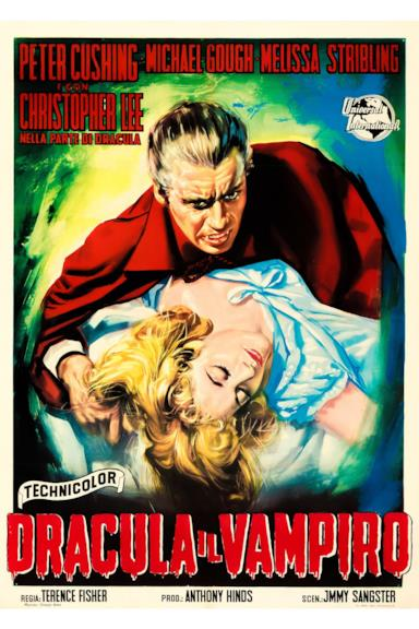 Poster Dracula il vampiro