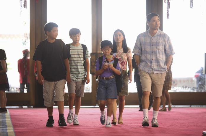 La famiglia protagonista di Fresh Off Boat