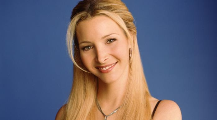 Lisa Kudrow in primo piano in Friends