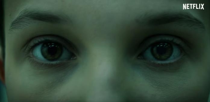 Gli occhi di Millie Bobby Brown