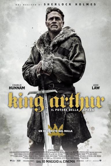 Poster King Arthur - Il potere della spada