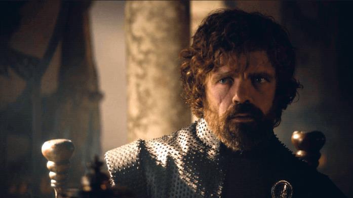 Peter Dinklage e Lena Headey in Game of Thrones 7x07