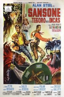 Poster Sansone e il tesoro degli Incas