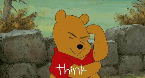 Winnie the Pooh pensa